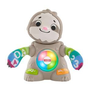 Fisher-Price GHR18 Linkimals Smooth Moves Sloth, Baby Toy with Music & Lights, Multicolour £25.97 @ Amazon