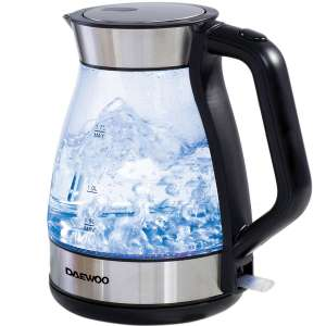 Daewoo 1.7L Glass Kettle £17.99 with code @ Robert Dyas (Free Click & Collect)