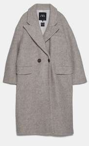 Zara Oversize Coat for £19.99 (free collection)