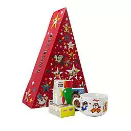 Kellogg's - 12 Days Of Cereal Advent And Bowl Set £2 Debenhams - free Click & Collect
