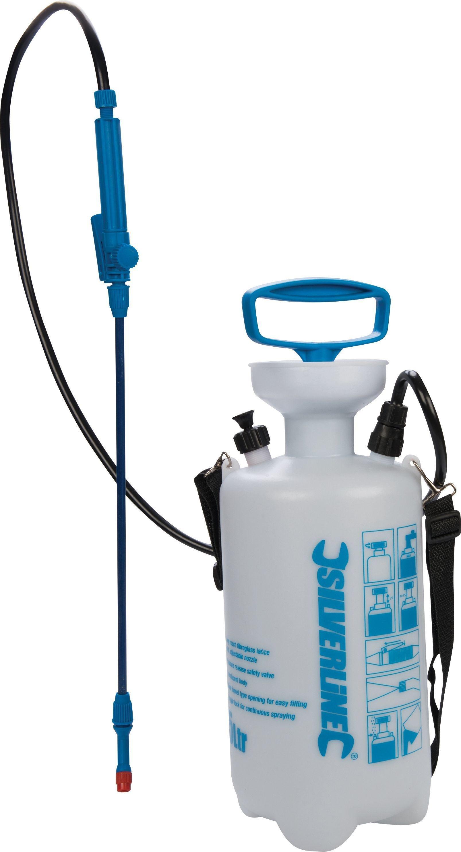 Silverline 675108 Pump-Up Pressure Sprayer - 5 Litre Capacity - £3.90 @ Argos
