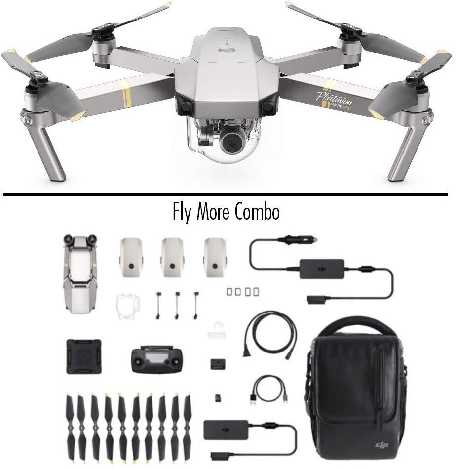 DJI Mavic Pro Combo Platinum Portable Drone - Used like new £687.38 at Amazon Warehouse