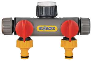 Hozelock Two Way Tap Connector for £8 in Argos (click and collect)