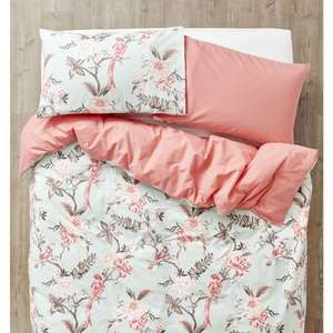 Modern Historical Easy Care Double Duvet Set - £3.50 @ Wilko instore / online