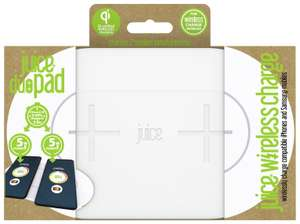 Juice Duo Pad Qi Enabled 10W Wireless Charger - White £11.99 @ Argos Ebay