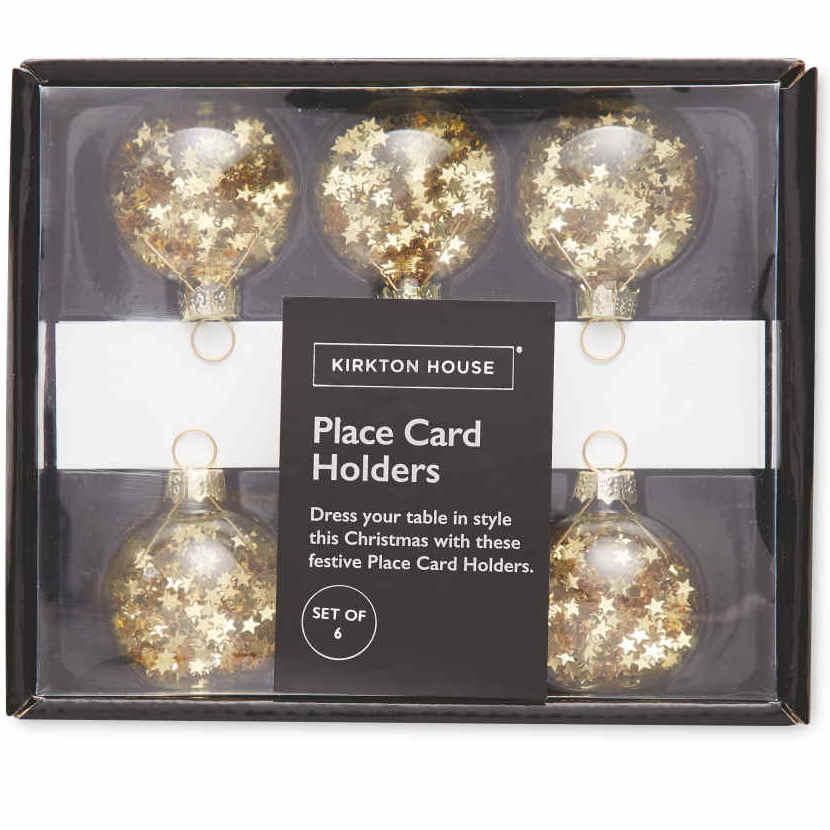 Kirkton House confetti place card holders 9p @ Aldi Redfield Bristol
