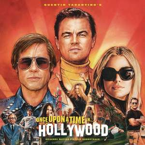 Quentin Tarantino's Once Upon A Time In Hollywood Original Motion Picture Soundtrack (+mp3 version) £4.99 prime / £7.98 non prime @ Amazon