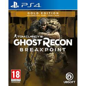 Tom Clancy's Ghost Recon Breakpoint Gold Edition (PS4) £23.77 Delivered @ 365games
