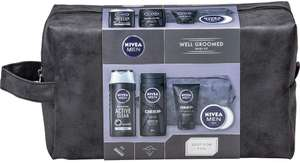 NIVEA MEN Well Groomed Gift Set for Him (5 Products), Men´s Grooming £6.40 (Prime) / £10.89 (non Prime) at Amazon