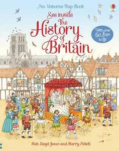 See Inside History of Britain (lift the flap kids book), Amazon £5 Prime + £2.99 Non Prime @ Amazon