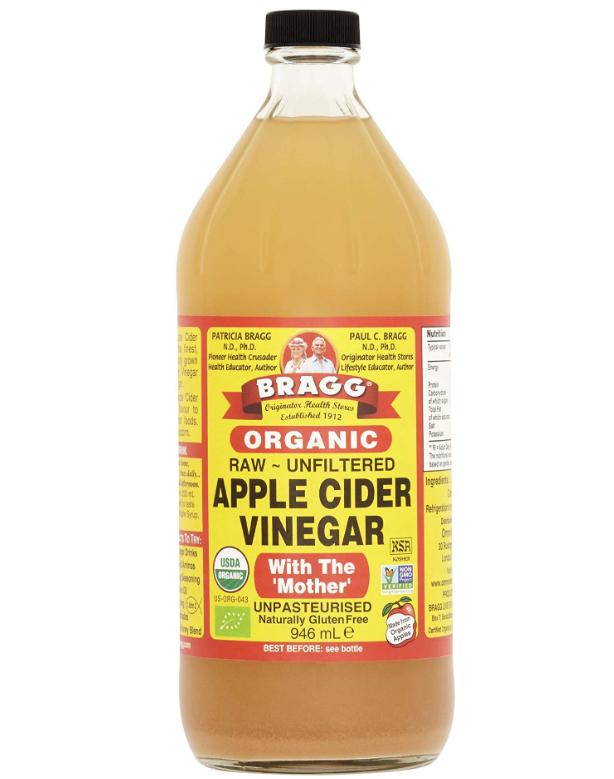 Braggs Organic Apple Cider Vinegar, 946ml £5.49 prime / £9.98 non prime @ Amazon