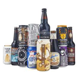 Beer Hawk - Porter and Stouts Mixed Case £25.99 delivered