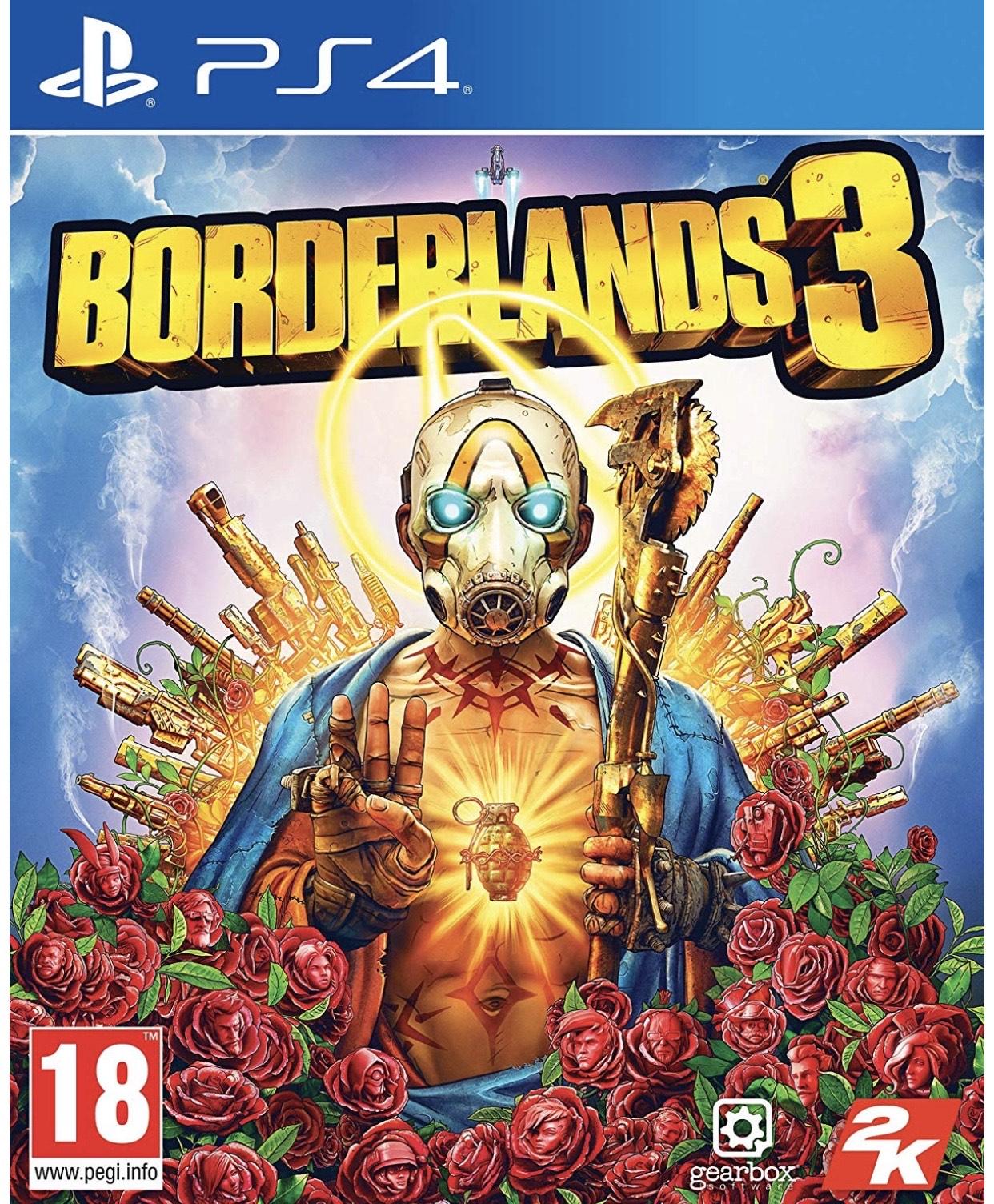 Borderlands 3 (PS4) Ex-rental @ Boomerang Rentals via eBay
