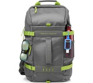 "HP Odyssey 15.6"" Laptop Backpack - Grey & Green £19.99 Delivered @ eBay / Currys"
