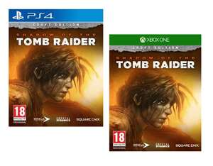 Shadow of the Tomb Raider Croft (Special Edition) - [PS4/Xbox One] for £19.95 Delivered @ Coolshop