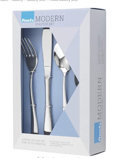 Amefa Starter Cutlery Set 16 piece £6.25 @ Tesco Scunthorpe