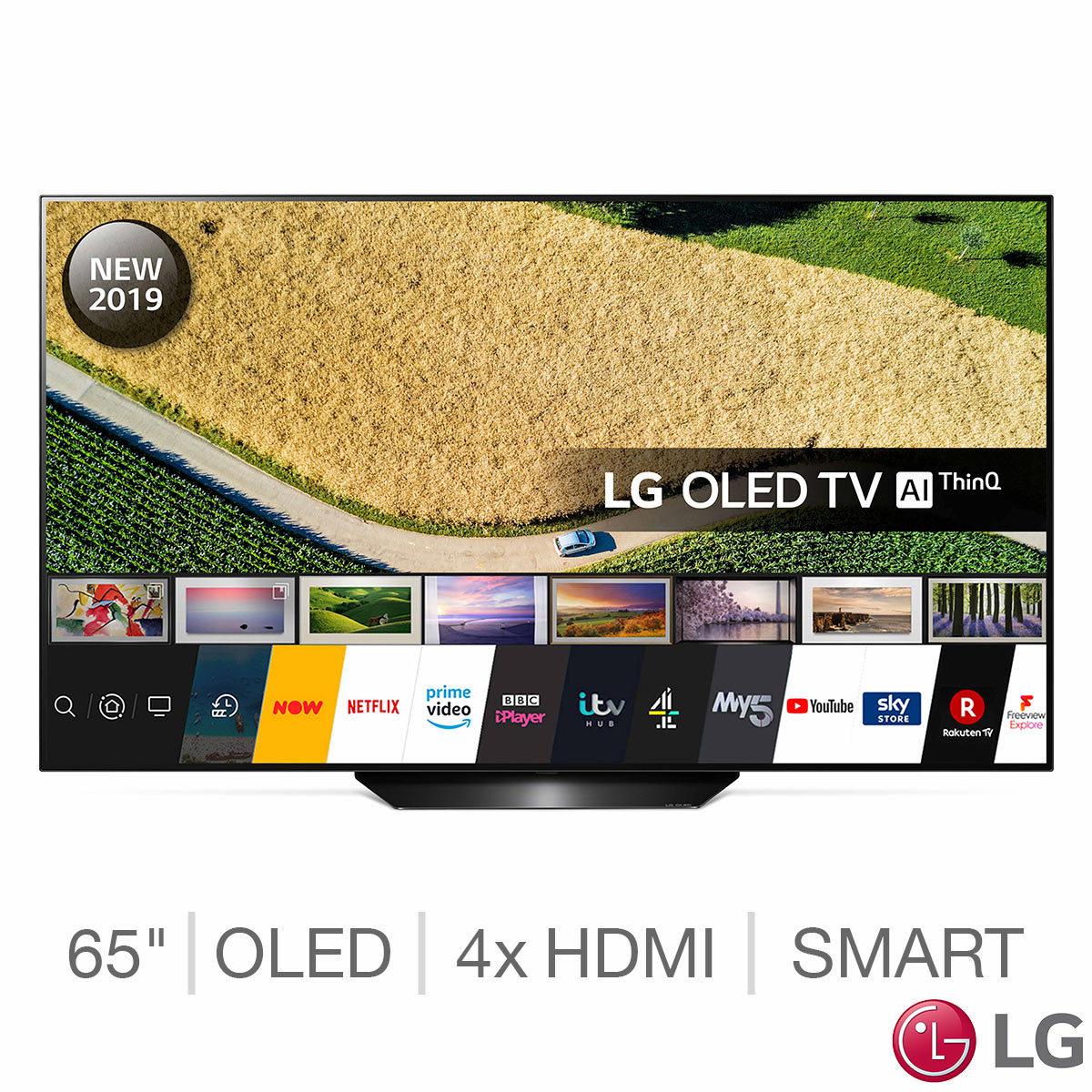 LG OLED65B9PLA 65 Inch OLED 4K Ultra HD Smart TV £1599.99 @ Costco