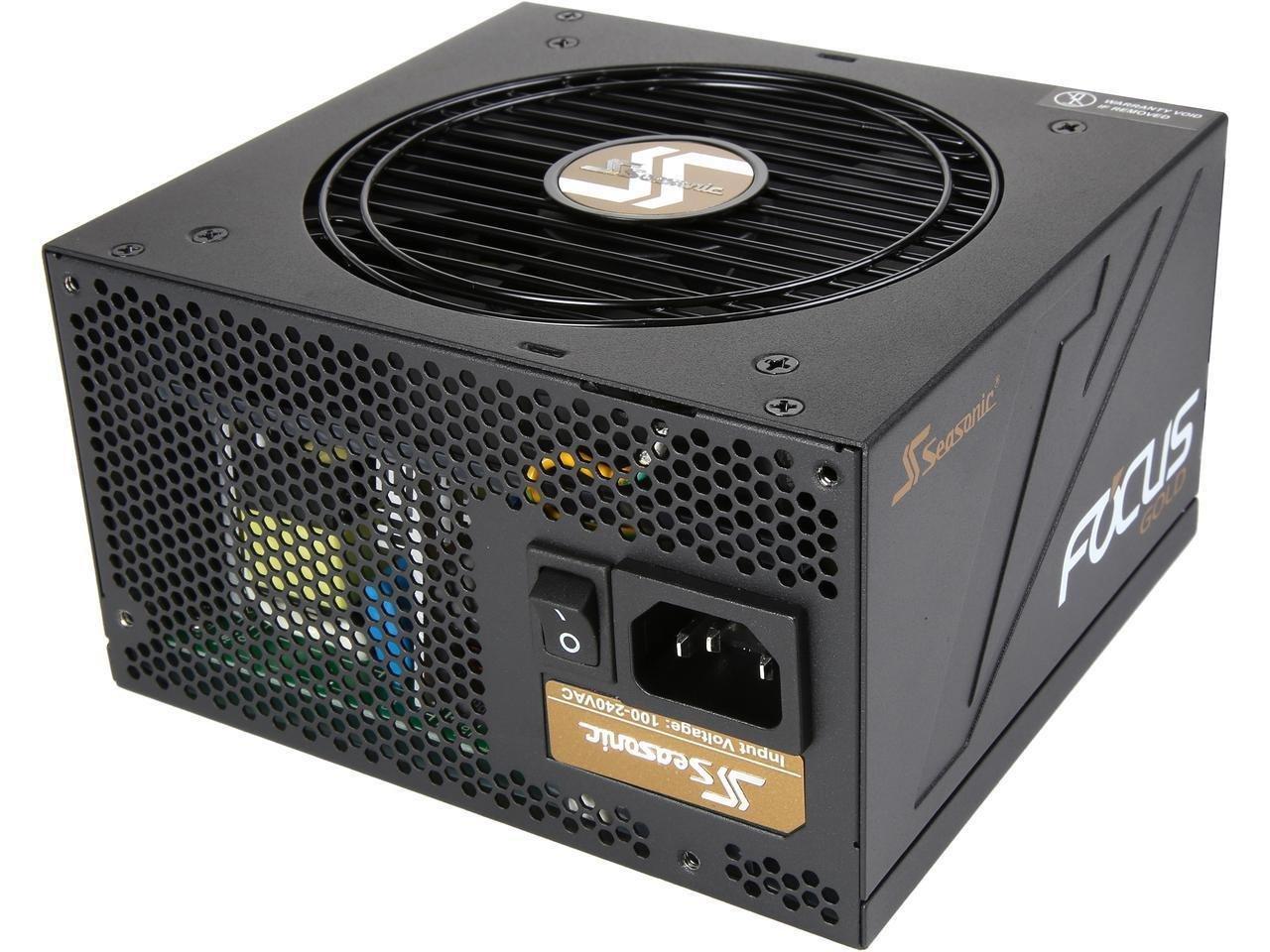 Seasonic 450 Watt FOCUS Gold Semi Modular ATX PSU/Power Supply £49.99 at Scan