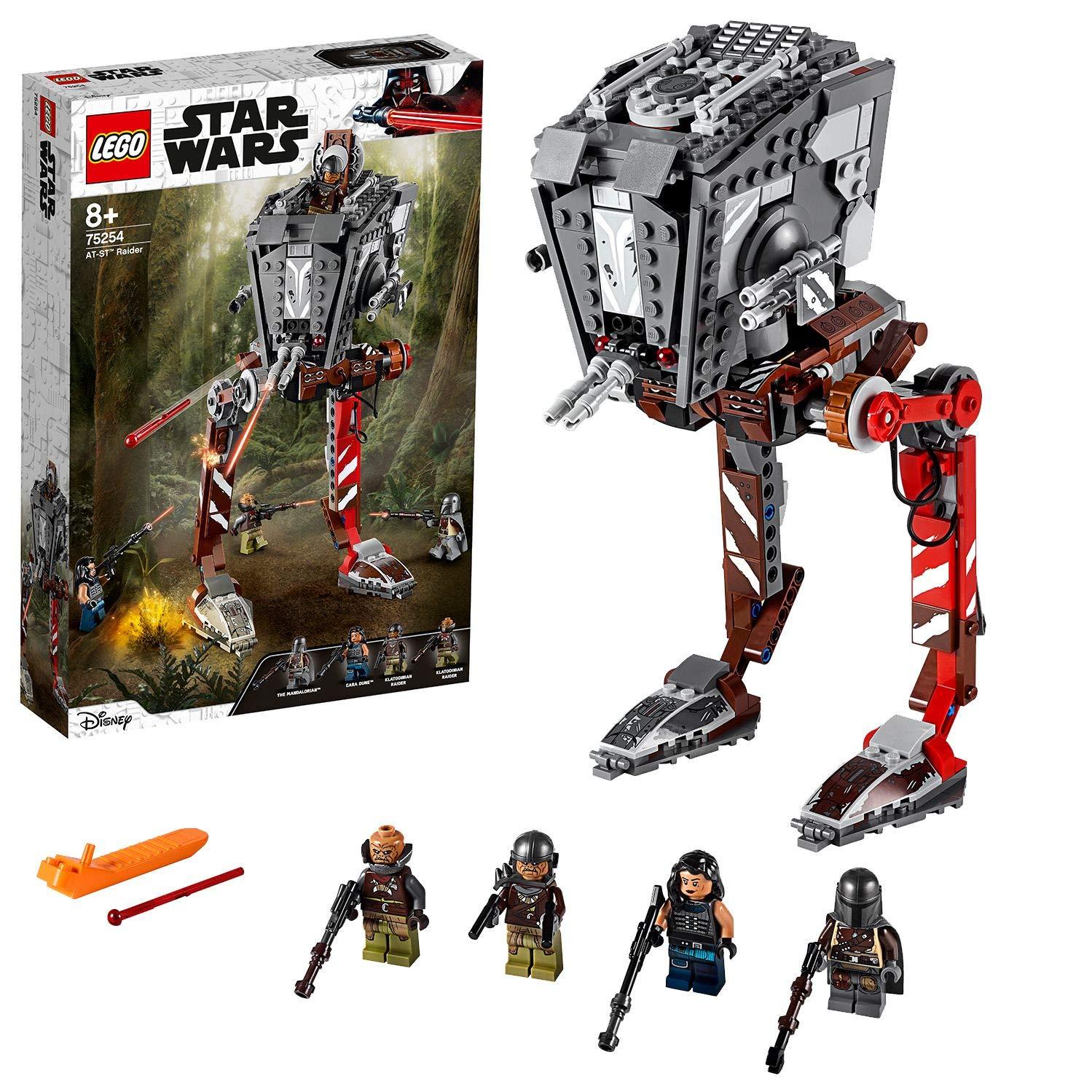 LEGO 75254 Star Wars AT-ST Raider Vehicle (The Mandalorian TV Series) Set £39.99 @ Amazon