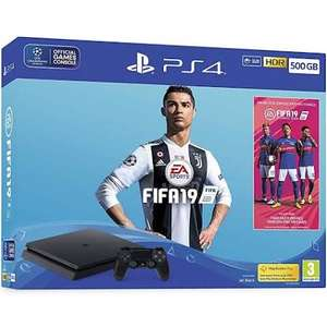 PS4 500Gb with fifa 19 or 1TB Limited Edition £183.98 On Clearance in Currys PC World Lisburn