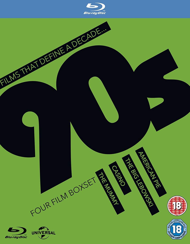 Films That Define A Decade: '90s [Blu-ray] 4 blu-ray movies for £4.99 prime / £7.98 non prime @ Amazon