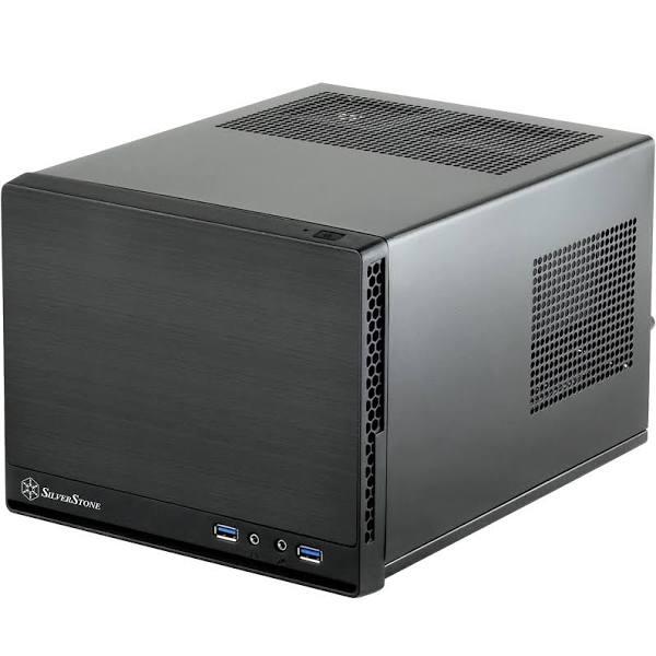 SilverStone SST-SG13B-Q - Sugo Mini-ITX Compact Computer Case - £24.98 @ Amazon