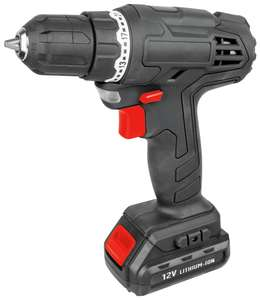 Simple Value Li-Ion Cordless Drill Driver - 12V £12.50 at Argos-free click and collect