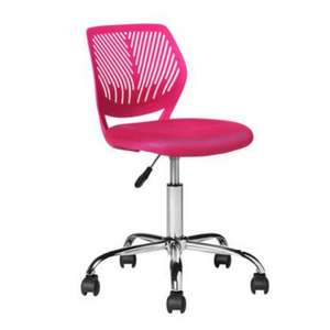 Argos Home Mesh Office Chair In Pink Only £23.45 Using Click & Collect Only @ Argos