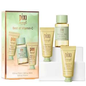PIXI Best of Vitamin-C Set Now £10 + Free Delivery @ Look Fantastic