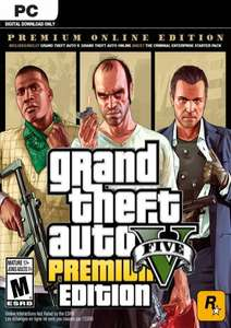 Grand Theft Auto V 5 (GTA 5): Premium Online Edition PC £9.99 @ CDKeys