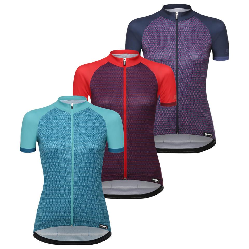 Santini women's ritmo jersey £24.79 @ Probike kit