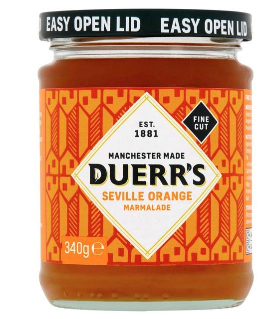 Duerr's Seville Orange Marmalade £1 @ Sainsbury's