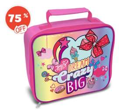JoJo Siwa Rectangle Lunch Bag £2.50 at TheToyShop.com (The Entertainer)