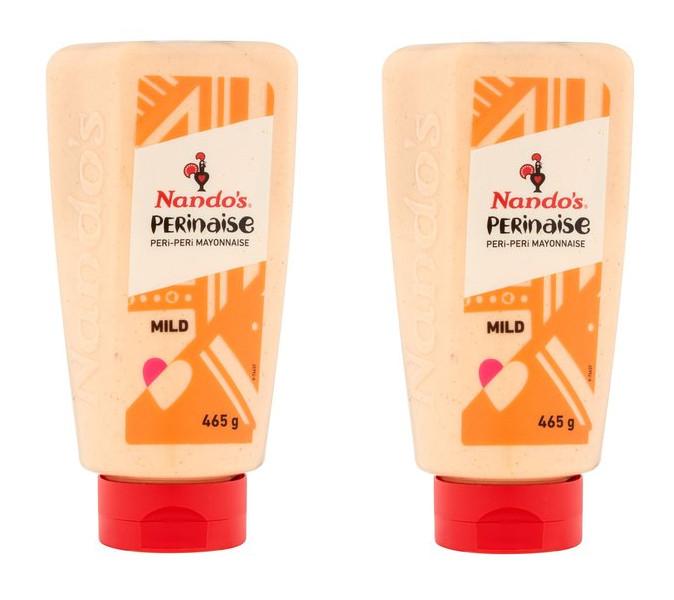 Nando's Perinaise Mild Peri Peri Mayonnaise 2 x 465g for £3.49 @ Costco