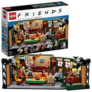 LEGO 21319 Ideas Central Perk Friends TV Show Series Collectors Set with Iconic Cafe Studio £57.20 @ Amazon