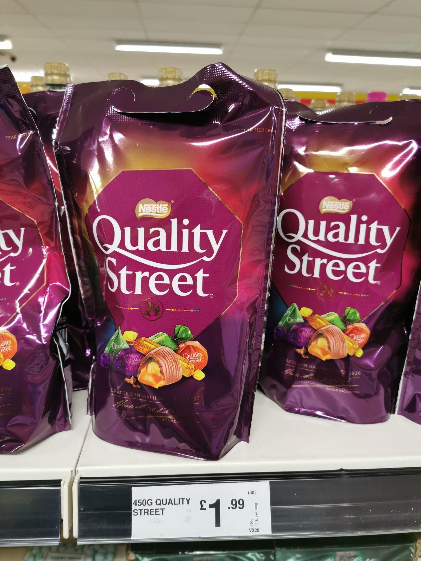 Quality Street Chocolates 450g £1.99 at FarmFoods Birmingham