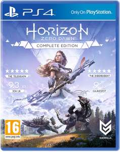 Horizon Zero Dawn Complete Edition PS4 £3.43 for US / Canadian PSN accounts from Gamivo / Argenkeys (using code)