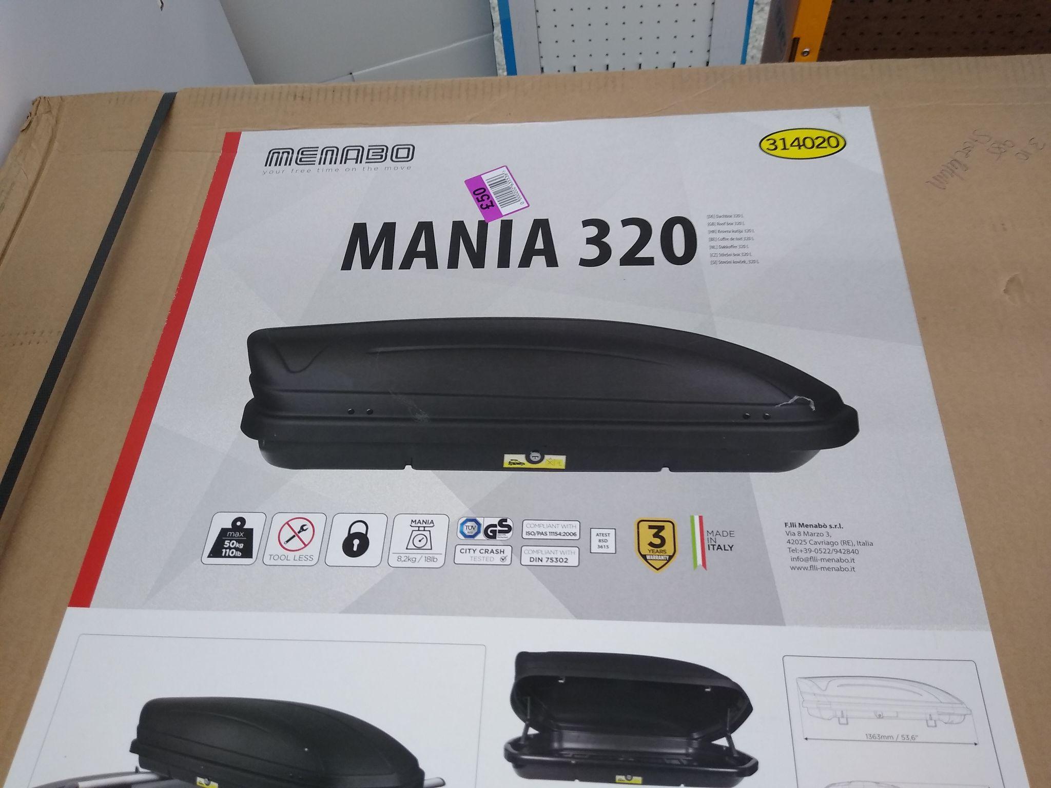 320L Roof Box £50 Lidl Maidstone