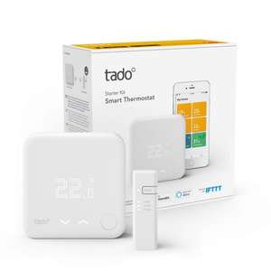 tado° Smart Thermostat Starter Kit V3+ - Intelligent heating control £99.99 at Amazon