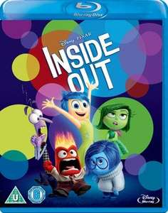 Inside Out [Blu-ray] New £4.39 @ Music Magpie