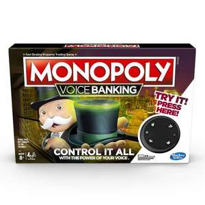 Monopoly voice banking edition £7.50 at Tesco Bulwell