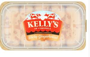 Kellys Sticky Gingerbread Ice Cream 950ml £1 @ Iceland New Brighton Wirral