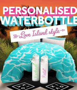 VOXI Drop: Free Love Island personalised water bottle for VOXI customers
