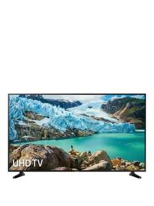 20% back on selected Samsung TVs at Very with code on buy now pay later