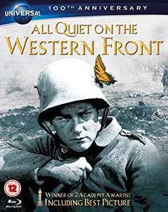 All Quiet on the Western Front [Blu-ray] [1930] £3.99 + £2.99 NP @ Amazon