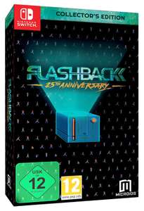 Flashback Collector's Edition (Nintendo Switch) £19.52 + £2.99 delivery non prime @ Amazon
