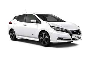 Nissan Leaf N-Connecta in White PCH Lease 10k/year £258.53 x 1 + 23 plus £250 fee £6454.72 @ WIllow Leasing