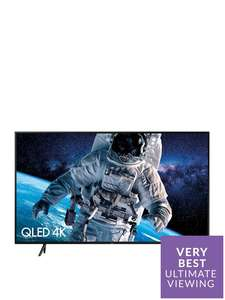 QE82Q60 82 Inch, QLED 4K Ultra HD Certified HDR 1000 Smart Q60 TV £2299 + 20% back with Buy Now Pay Later code @ Very