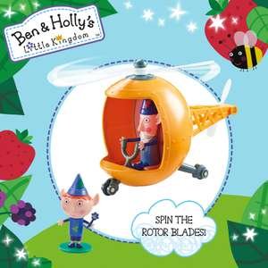 All remaining Christmas toys stock reduced to clear for £4 at B&M including this Ben and Holly rescue helicopter