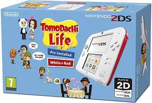 Nintendo 2ds White and Red with tomodachi life pre installed £40 Tesco instore